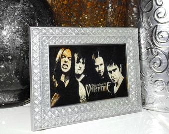 Bullet for my Valentine Inspired Marble Glass Art