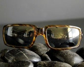 Vintage Cool Ray Polarized Tortoise Shell Striped Sunglasses