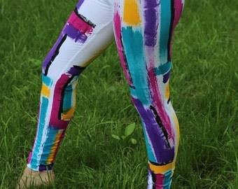 Women's Hand Painted Legging