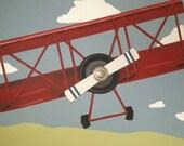 Vintage Plane Mural, Part...