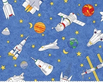 Space fabric etsy for Space fabric uk