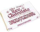 Raw Chocolate Bar 70% Peruvian Chocolate with Raspberry & Salted Caramel 50g