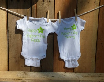 Newborn 5-8 lbs Boy Mother's Day and Father's Day set