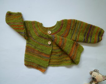 Knit baby sweater,baby cardigan,knit baby boy sweater,knit baby girl sweater,free shipping