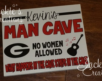 Personalized Man Cave Sign/ Man Cave Sign/ Custom Man Cave Sign