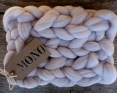 ARM KNITTING yarn- 96 colors - 3 inch stitch - MONO yarn - Chunky Blanket Yarn - Merino 19 micron- Super Chunky Yarn - ChOOse your CoLor -