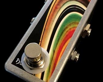 Saturnworks Handmade Guitar True Bypass Looper Loop Pedal Compact