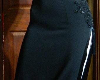 Vintage Dress Asian beaded sexy dress