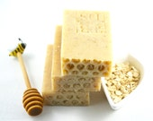 Reserved for SARA:  Honey Goat Milk Soap, Natural, Organic Soap