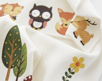 Offset Printing Iron On Transfer Hot Flocking Tape Sticker Plate Backing Painting- Animal Collection Dog Owl Bear