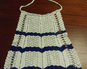 Hand Crocheted Apron     (DD)