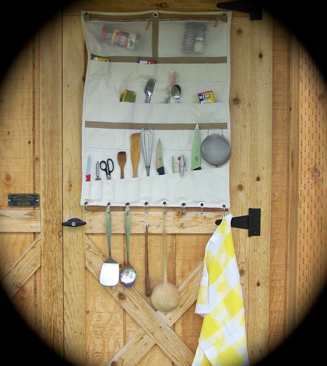 Wall Tent Camp Kitchen Cookware Organizer Hunting Camp Gear