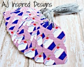 Cupcake Duct Tape Tags// Tape Tags// Product Tags//Gift Tags//Tags with String//Ready to Ship//INVENTORY REDUCTION