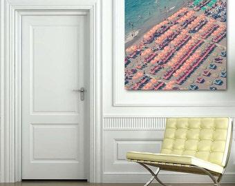 Italy Beach Photography print - Positano print - Amalfi Coast print - Riviera print