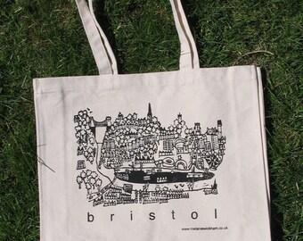 Bristol - canvas tote bag