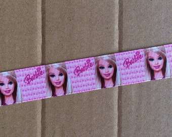 "7/8"" Grosgrain Barbie Ribbon"