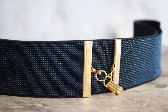 wide blue belt navy blue belt elastic waist belt blue dress
