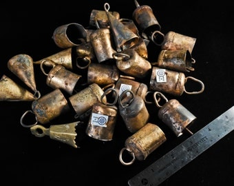 One Dozen Indian Brass Bells