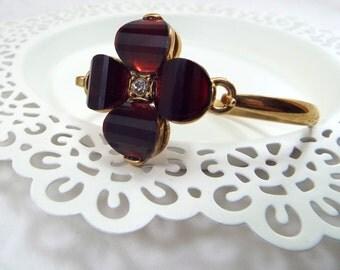 Monet Unsigned Flower Bracelet