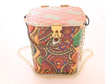 Up-cycled Tin Box/Bag