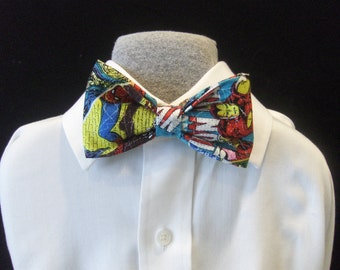 Bow tie comic strip super hero kids baby children bowties Brookes & Company