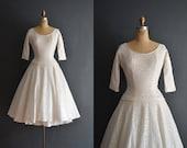 Edith / 50s dress / short wedding dress