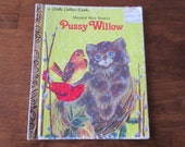 Vintage Margaret Wise Brown's Pussy Willow Little Golden Book