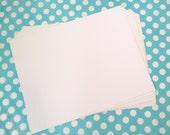 "20 Waterproof Sticker Paper - TWENTY (8.5"" x 11"") Sheets of Inkjet compatible Vinyl Label stock"