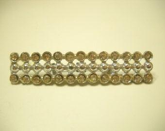 Vintage Rhinestone Brooch (1188) Sparkly!!