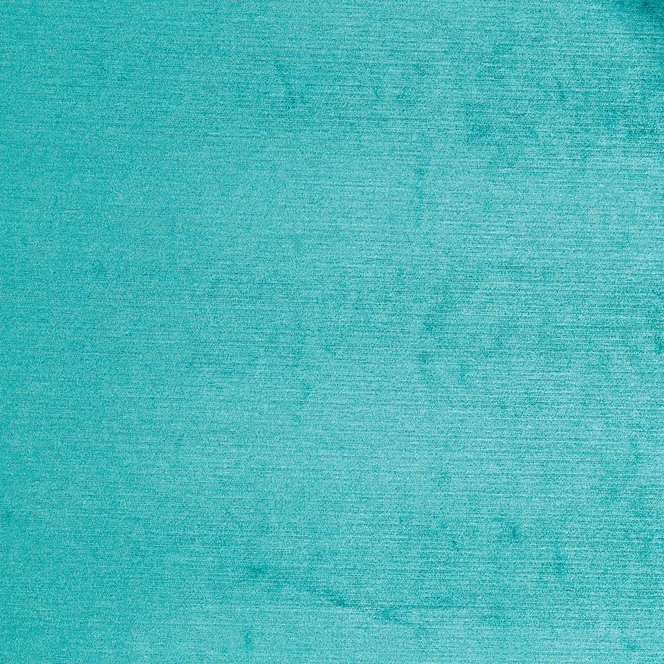 Turquoise Chenille Upholstery Fabric For Furniture Aqua