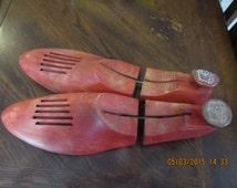 Vintage Wood Shoe Inserts