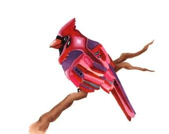 Cardinal 8x10