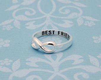 Infinity Ring - Best Friend
