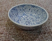 Hand made hand painted Turkish Ceramic Golden Horn Design