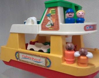 Fisher Price Little People Ferry Boat