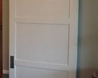 Custom Sliding Barn Door, Contemporary Sliding Barn Door