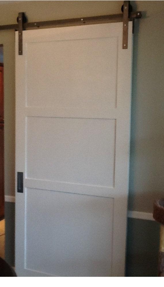 Custom sliding barn door contemporary by doorsbydeborahanne for 32 inch sliding barn door