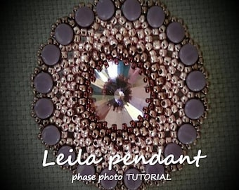 TUTORIAL  of the Leila pendant