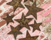 Reserved Wish Upon A Star Rusty Metal Stars 20 Count  Rusty Star Home Accents Home And Living Rusty Home Accents Babys Room Decor Metal Star