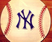 New York Yankees Baseball string art