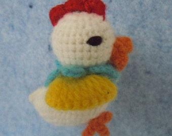 New Handmade Crochet  chick. Hand  knitted crocheted toy