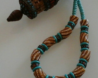 NECKLACE :From  Africa to the Himalayas