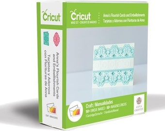 """Anna Griffin """" FLOURISH CARDS """" CRiCUT  Cartridge for CARD MAKERs !! Ships Now !!"""