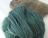 Handspun New Zealand Alpaca and Silk yarn
