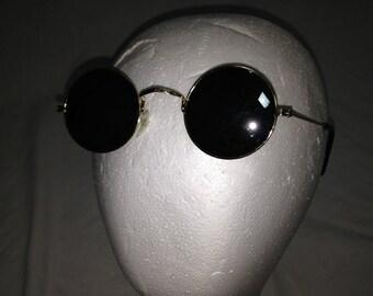 mirrored circle glasses