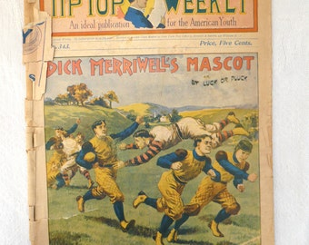 1902-Tip-Top Weekly- Publication for American Youth-FOOTBALL