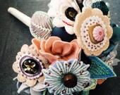 Custom Felt Flower Bouquet