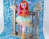 Monster doll handmade couture doll clothes tutu sweet doll dress