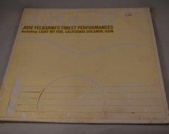 Vintage Record Encore! Jose Feliciano's Finest Performances Album LSPX-1005