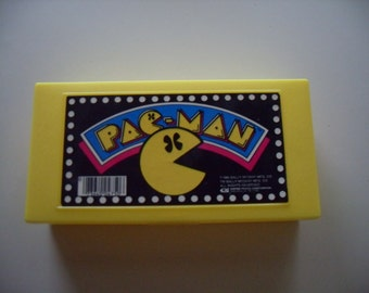 Vintage Pac-Man Pencil Case/ Box